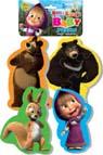 Пазлы Baby pazzle, Маша и медведь (белка), Vladi Toys