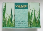 Мыло аюрведическое Royal Indian Khus, Vaadi Herbal, 75г