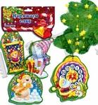 Новогодний декор -подвес, Часы,Vladi Toys