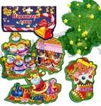 Новогодний декор -подвес, Снеговики,Vladi Toys